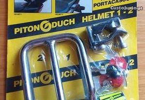 Cadeado mota para capacetes - novo Piton Duch
