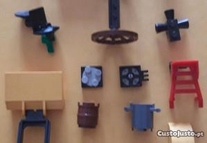 Lego lote 14 acessorios