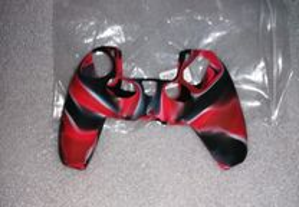 Capa Comando PS5 - Novo Vermelho