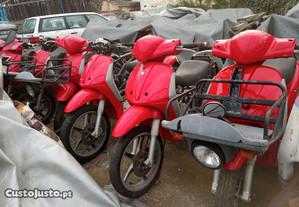 Scooters Piaggio para peças