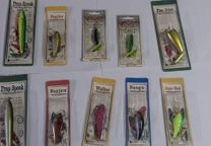 Conjunto de 10 amostras Damiki Baits para a pesca