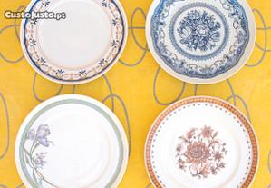 Conjunto de 12 pratos VA - Vista Alegre