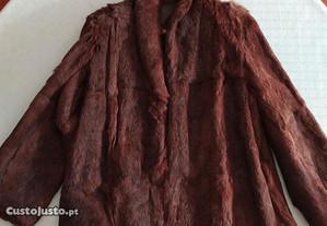 Casacos Pele de Coelho Vintage