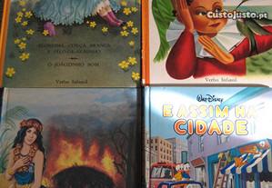 Livros Verbo e Walt Disney - Portes Grátis.