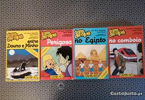 Livros da Colecção Uma Aventura - Portes Grátis.