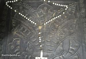 crucifiço antigo , cruz grande