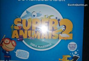 Caderneta Super Animais 2 Pingo Doce - Completa