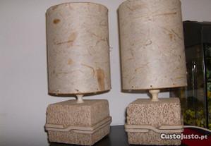 candeeiros de mesa