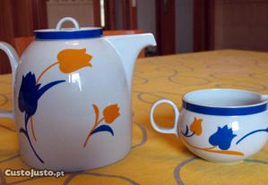 Conjunto de 2 peças em porcelana VA - Vista Alegre
