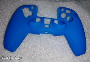 Capa Comando PS5 - Novo Azul