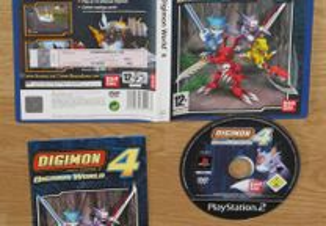 Playstation 2: Digimon World 4
