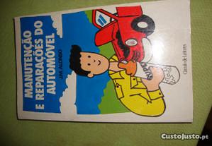 livro-manutenção e reparações do automóvel