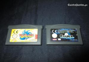 2 Jogos Gameboy Advance Casper e Beyblade