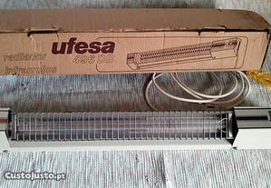 Aquecedor de WC UFESA de 2 barras e 3 potências