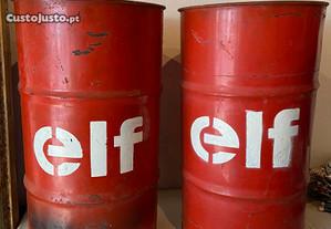 Lote de 2 bidons de gasolina da Elf