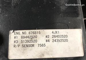 Motor izuzu 3.0 com referência 4JX1