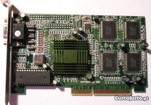 Placa Gráfica PCI Intel 740 AGP 3D 8Mb