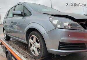 Opel zafira 1.9cdti para peças ano 2008