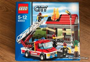 Lego City 60003 - Fire Emergency - Novo Selado
