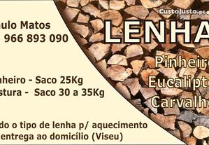 Sacos de lenha seca 35 kg