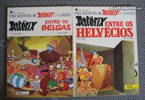 Livros do Astérix - Edições Meribérica - P. Grátis
