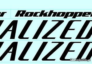 Specialized hardrock autocolantes