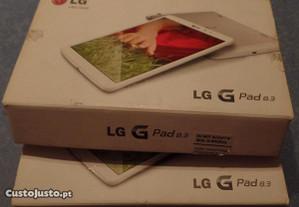 Dois Tablets LG G Pad 8,3
