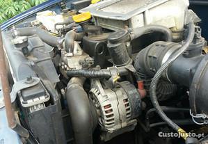 Motor e caixa Nissan terrano 2.7 tdi