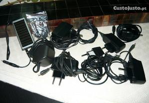 Conjunto carregadores de telemóvel e outros Scart