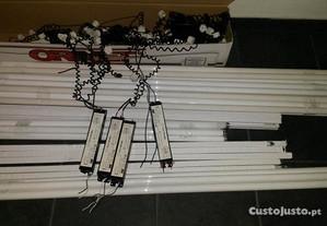 Balastros eletrónicos e lâmpadas