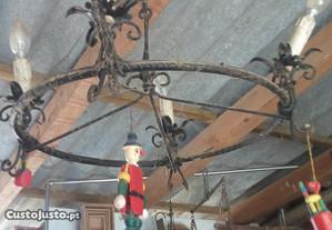 Candeeiro teto