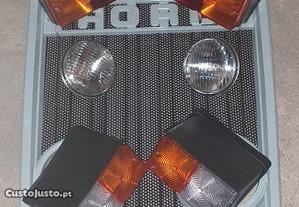 Kit Grelha + faróis frente FORD 3600/4600/5600