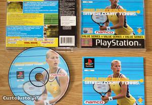 Playstation 1: Anna Kournikova's Smash Court Tennis