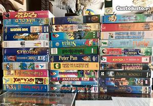 Filmes VHS crianças