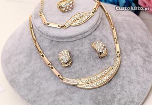 Conjuntos de joias com preço incrível Joias Dubai