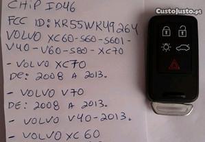 Chave Para VOLVO xc60 s60 v40 v60 v70 xc70 s80