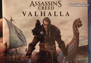Assassins Creed Valhalla ps4 como novo usado uma v