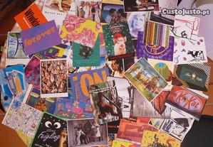 50 postais dos anos 90, novos