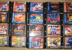 Sega Mega Drive - Jogos Bootleg Novos