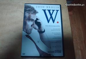 dvd original w. com josh brolin