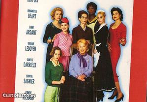 Dvd 8 Mulheres - drama - selado - com extras