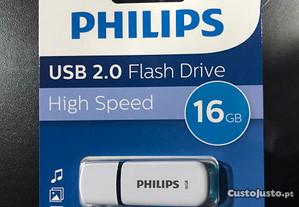 Pen USB 16GB Philips - Nova e Selada