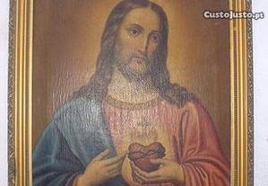 Jesus Cristo - Óleo sobre tela - Sec. 19