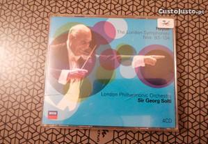 Música Clássica The London Symphonies (4 cd´s).
