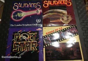 Discos vinil vários - LP e single