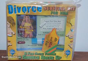 Kit Sobrevivência p/ Divorciado-Pregue uma partida