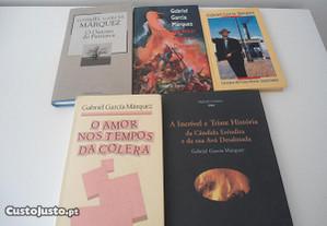 5 Livros de Gabriel García Márquez