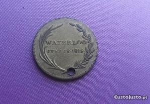 Medalha 1816 Batalha de Waterloo
