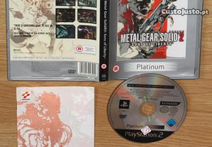 Playstation 2: Metal Gear Solid 2