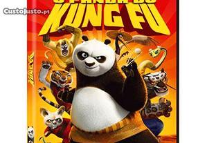 Dvd O Panda do Kung Fu 1 - Filme FALADO EM PORTUGUÊS - Entrega IMEDIATA animação Dreamworks